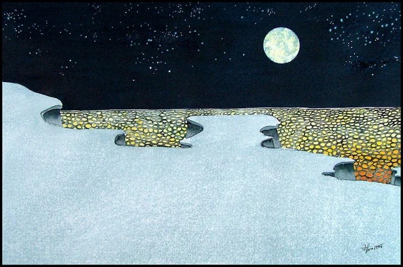 Nachtlandschaft