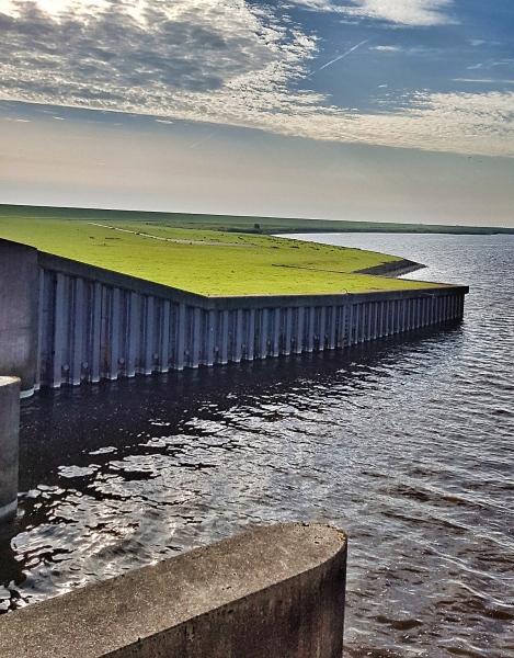 Schleuse bei Greetsiel, Ostfriesland