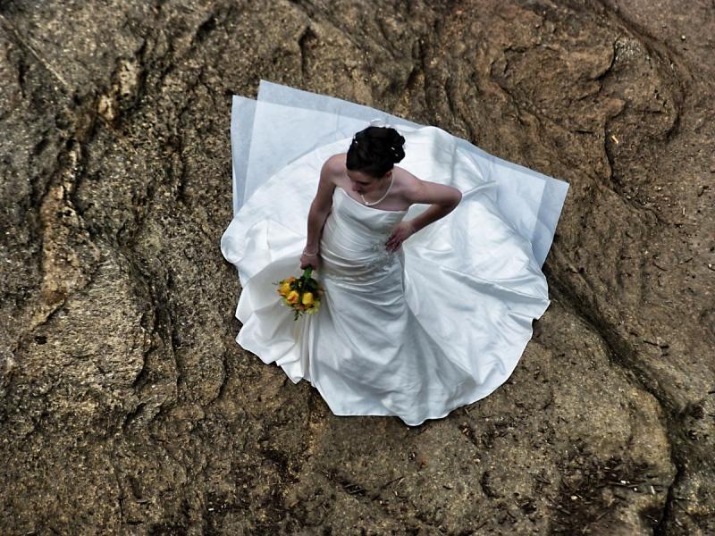 Braut in Greenville  - South Carolina, USA