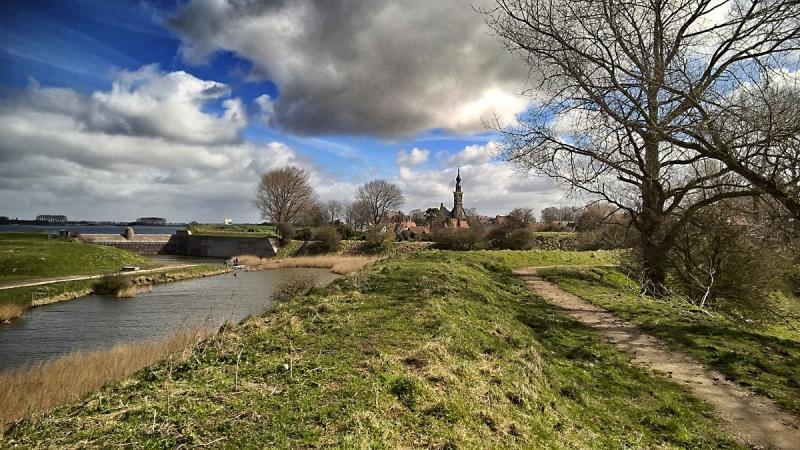 Blick auf Veere - Walcheren, Niederlande