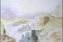 Aquarell  nach William Turner
