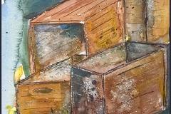 Kisten, Aquarell