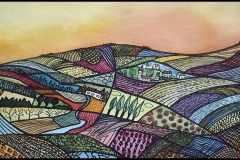 Farbige-Landschaft
