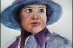Frau-mit-Hut